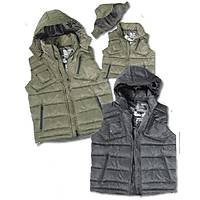 HOODED VEST M-TEC BLACK