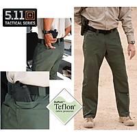 5.11 Tactical Pants Green % 100 Cotton