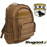 Bugout Gear S.O.C. Three Day Elite Backpack Coyate Brown