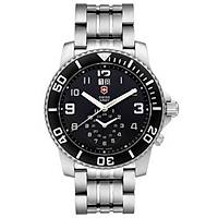 VICTORINOX Swiss Army Maverick II Dual Time Quartz 43mm Saat