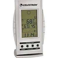 Celestron 47003 Compact Barometric Weather Station (Silver)