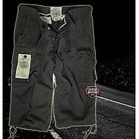 AIR COMBAT 34-PANTS PREWASH BLACK