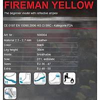 Haix FIREMAN® YELLOW
