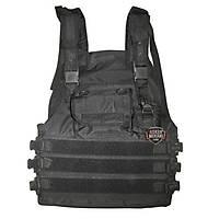 Swat Black Vest Modüler Sistem