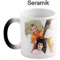 Sihirli Kupa Seramik 8 Resim Basklý