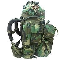 Military Combat Bag Woodland Camo