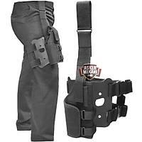 Tactical Special Black Holster Bacak Kýlýfý (SOLAK MODEL )