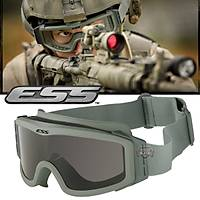 ESS MILITARY TACTICAL BALISTIC GOGGLES GREEN FRAME