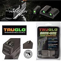 Truglo Tritium Fiber Optic Sights For Glock