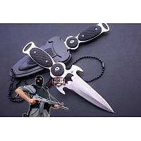 Neck Knife With Hard Cover Sheath