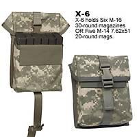 SPEC-OPS.® MAGAZÝNE/UTÝLÝTY POUCH X6  M4 & AR-15 Magazine Pouch