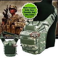 Multi Purpose Molle Gear Shoulder Bag Acu Camo