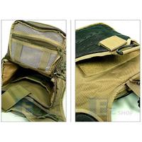 Multi Purpose Molle Gear Shoulder Bag Coyate Brown
