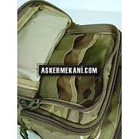 Multi Purpose Molle Gear Shoulder Bag Multi Camo