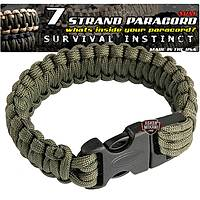 Outdoor Paracord Bracelet Green