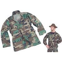 US BDU Ripstop Woodland Jacket