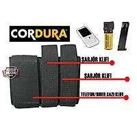 Cordura Case Şarjör-Biber Gazı-Telefon Kılıfı