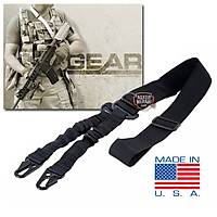 Tactical 2-Point Bungee Sling Black Askı Kayışı