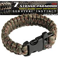 Outdoor Paracord Bracelet Camouflage