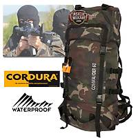 Tactical Cordura Camouflage Backpack 60 LT