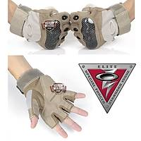 Oakley Half Finger Tactic Gloves Tan