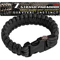 Outdoor Paracord Bracelet Black