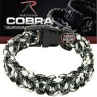 Rothco Cobra Paracord Bracelet Urban Camo