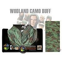 Multifunctional Woodland Camo Buff