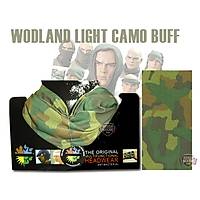 Multifunctional Light Woodland Camo Buff