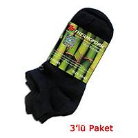 TF Bambu 3'lü Patik Çorap