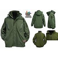 Tactical Softshell Green Parka