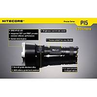 Nitecore P15 CREE XP-G2 R5 LED Flashlight - 430 Lumens
