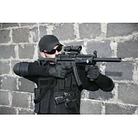 US Tactical Cross Draw Vest Black