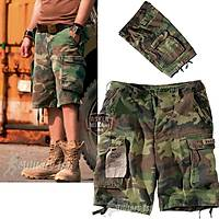 US CARGO SHORTS WOODLAND