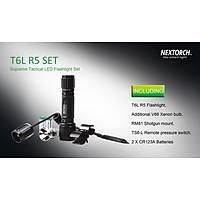 Nextorch T6L R5 SET LED Flashlight 320 Lumens Tüfek Feneri