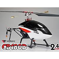 CB180D 2,4 GHZ Metal Helikopter Seti