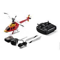 Bell 206 Kýrmýzý Kullanýma Hazýr Helikopter Seti