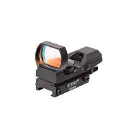 Military Strike Red Dot sight 7 x red 1 x 22x33mm