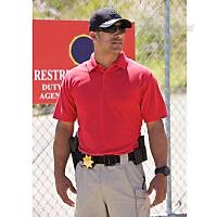 5.11 Tactical® Professional Sleeve Polo Red