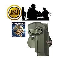 IMI 92 Beretta f92-f96  Olive Drap Roto Polymer Holsters