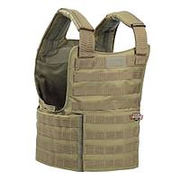 US PADDED MOLLE II VEST COYOTE BROWN