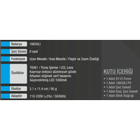 Tactical Flashlight Model 8115