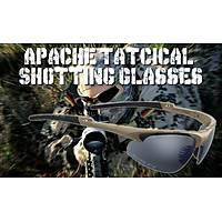 Swiss Eye Apache Tatcical Shotting Brown Glasses