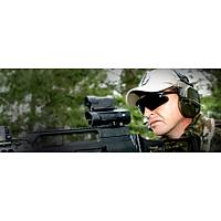 SWISS EYE RAPTOR BALLISTIC GLASSES BROWN FRAME