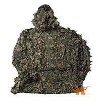 Ghillie Suit woodland camo Sniper Elbisesi