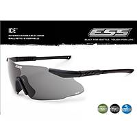 ESS ICE 3LS - Clear, Smoke Gray & Hi-Def Yellow Lenses