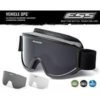 ESS Striker Vehicle Ops Goggles - Black