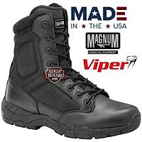 MAGNUM US VIPER PRO 8.0 SIDE ZIP BOOTS BLACK