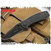 Kershaw Blackwash Plain Blade
