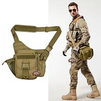 Military Tactical Messenger Bag Coyote Brown